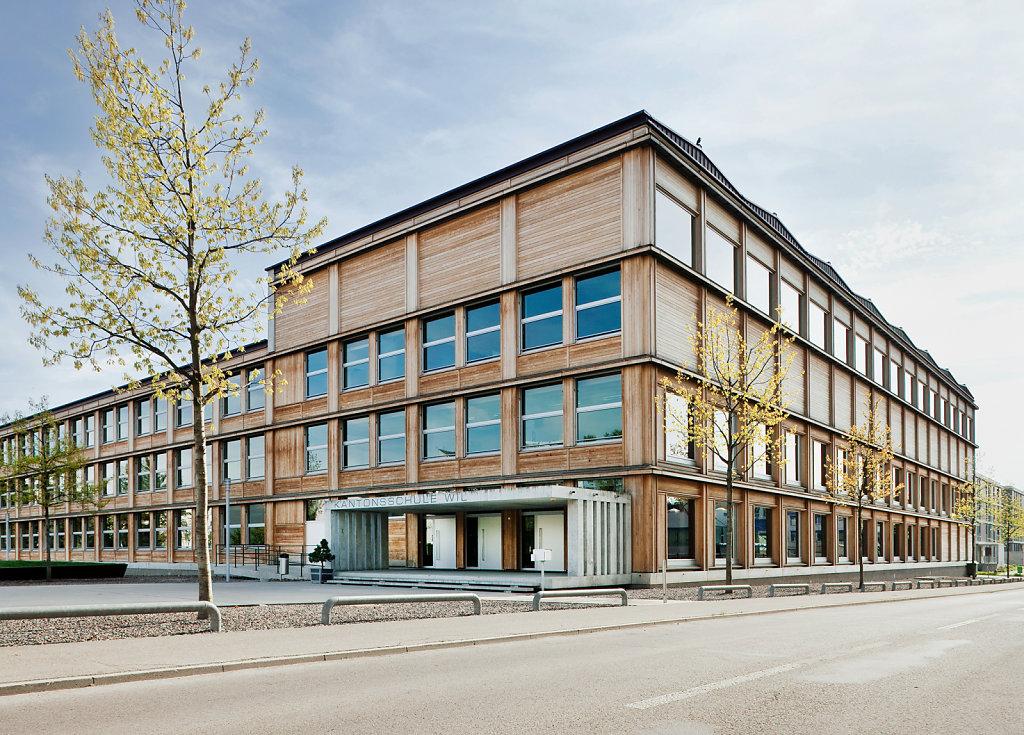 Kantonsschule Wil,  Staufer & Hasler Architekten